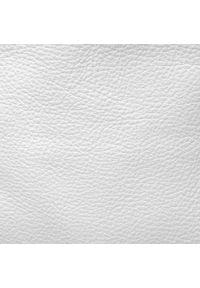Creole - Torebka CREOLE - S10402 Biały. Kolor: biały. Materiał: skórzane. Styl: klasyczny