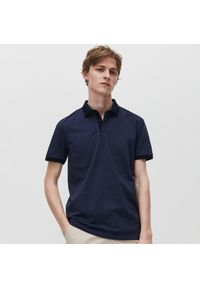 Niebieska koszulka polo Reserved polo