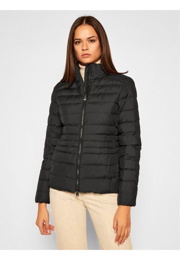 Czarna kurtka zimowa Polo Ralph Lauren polo