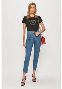 Niebieskie jeansy loose fit Levi's® biznesowe, na spotkanie biznesowe