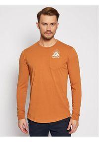 Maloja Longsleeve LegshomM 30508-1-8416 Pomarańczowy Relaxed Fit. Kolor: pomarańczowy. Długość rękawa: długi rękaw