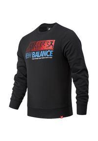 Bluza New Balance casualowa, z klasycznym kołnierzykiem, na co dzień