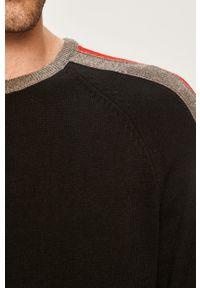 Czarny sweter Blend z okrągłym kołnierzem, na co dzień #6