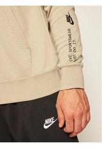 Beżowa bluza Nike