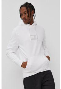 Tommy Jeans - Bluza bawełniana. Okazja: na co dzień. Typ kołnierza: kaptur. Kolor: biały. Materiał: bawełna. Styl: casual