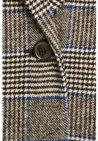 Szary płaszcz Levi's® bez kaptura, biznesowy, na spotkanie biznesowe