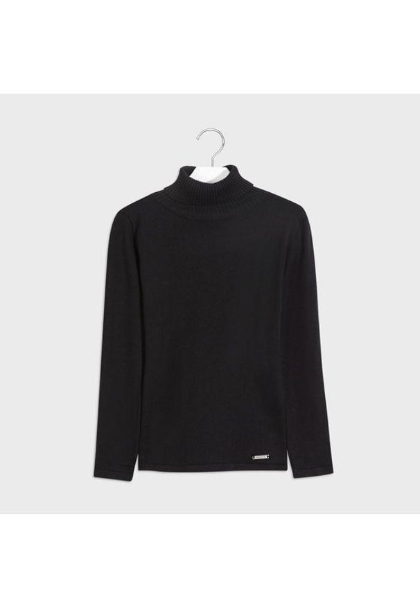 Czarny sweter Mayoral