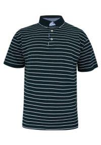 Niebieski t-shirt Elkjaer na co dzień, z krótkim rękawem