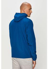Niebieska kurtka Under Armour na co dzień, casualowa