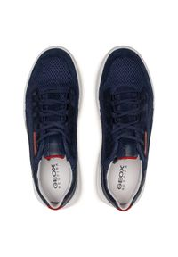 Geox Sneakersy U Smoother A U15AFA 01422 C4002 Granatowy. Kolor: niebieski