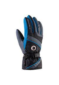 Rękawice męskie narciarskie Viking Trick 110083202. Materiał: syntetyk, materiał. Technologia: Thinsulate. Sport: narciarstwo
