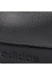 Czarne klapki na basen Adidas