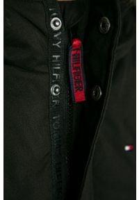 TOMMY HILFIGER - Tommy Hilfiger - Parka dziecięca 116-176 cm. Okazja: na co dzień. Typ kołnierza: kaptur. Kolor: czarny. Materiał: tkanina, akryl, poliester, włókno, futro, materiał. Wzór: gładki. Styl: casual #2