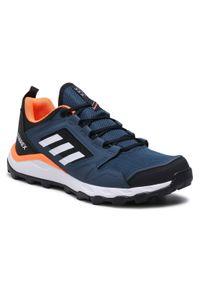 Adidas - Buty adidas - Terrex Agravic Tr FX6914 Crenav/Ftwwht/Hazblu. Zapięcie: sznurówki. Kolor: niebieski. Materiał: skóra, materiał. Szerokość cholewki: normalna. Wzór: gładki. Model: Adidas Terrex