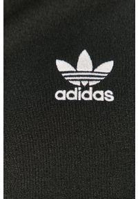 adidas Originals - Bluza. Okazja: na co dzień, na plażę. Kolor: czarny. Materiał: materiał. Styl: casual