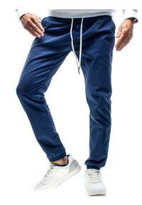Niebieskie spodnie Recea