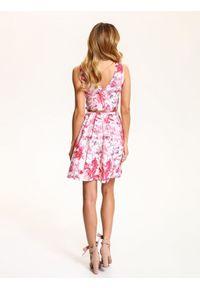 Biała sukienka TOP SECRET elegancka, na wiosnę