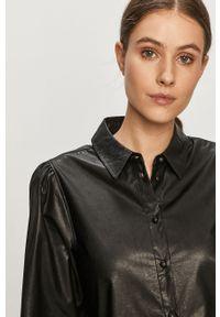 Czarna koszula Jacqueline de Yong na co dzień, klasyczna