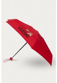 MOSCHINO - Moschino - Parasol. Kolor: czerwony