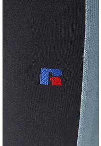 Russell Athletic - Russel Athletic - Legginsy. Kolor: niebieski