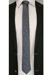 Krawat Angelo di Monti elegancki, w kwiaty