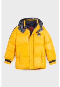 Pomarańczowa kurtka Mayoral z kapturem