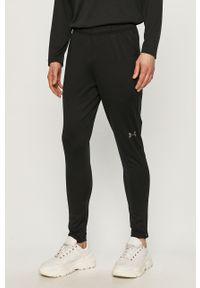 Czarne spodnie dresowe Under Armour gładkie