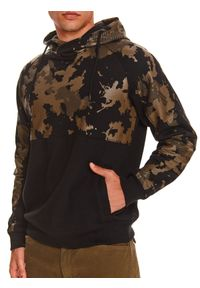 TOP SECRET - Bluza nierozpinana męska reglan, kangurka. Kolor: brązowy #6