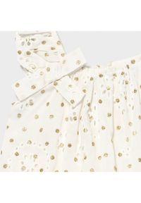 Mayoral Sukienka codzienna 1979 Biały Regular Fit. Okazja: na co dzień. Kolor: biały. Typ sukienki: proste. Styl: casual #3