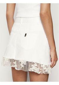 Biała spódnica mini Liu Jo