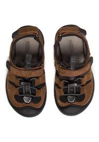 Brązowe sandały keen na lato, klasyczne