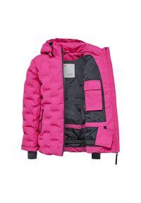 Różowa kurtka narciarska LEGO Wear