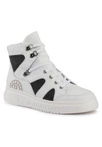 Rage Age - Sneakersy RAGE AGE - RA-17-02-000107 RA-17-02-000107. Okazja: na co dzień. Kolor: biały. Materiał: skóra ekologiczna, materiał. Szerokość cholewki: normalna. Styl: sportowy, casual