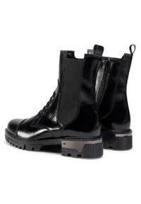 Czarne buty trekkingowe sagan