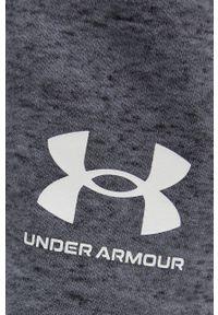 Under Armour - Szorty. Kolor: szary. Materiał: dzianina