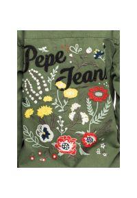 Zielona parka Pepe Jeans