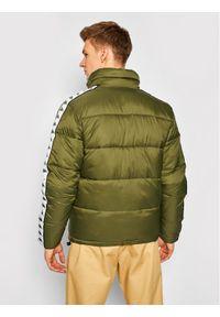 Zielona kurtka puchowa Kappa