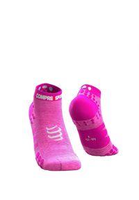 Różowe skarpety sportowe Compressport
