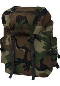 Plecak turystyczny vidaXL Wojskowy 65 l (91098). Styl: militarny