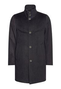 Niebieski płaszcz przejściowy Oscar Jacobson