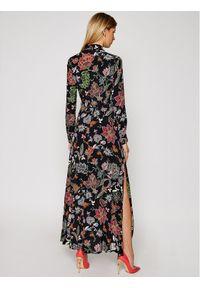 Czarna sukienka Morgan De Toi koszulowa