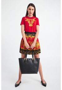 Versace Jeans Couture - TOREBKA VERSACE JEANS COUTURE. Materiał: skórzane