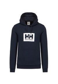 Bluza Helly Hansen HH BOX HOODIE. Okazja: na co dzień. Typ kołnierza: kaptur. Materiał: bawełna. Wzór: aplikacja, nadruk. Styl: casual