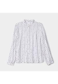 Biała koszula Mohito ze stójką