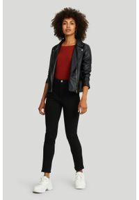 Greenpoint - Bawełniane, dopasowane spodnie. Materiał: bawełna