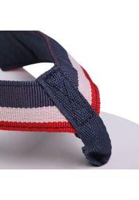 U.S. Polo Assn - Japonki U.S. POLO ASSN. - Hera CHANY4093S0/T1 Whi/Dkbl. Kolor: niebieski. Materiał: materiał. Sezon: lato. Obcas: na obcasie. Wysokość obcasa: średni