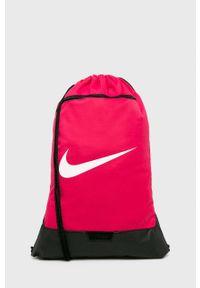 Nike - Plecak. Kolor: różowy