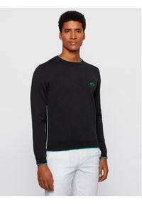 BOSS - Boss Sweter Riston 50440679 Czarny Regular Fit. Kolor: czarny