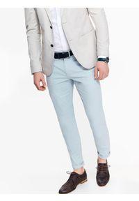 Niebieskie spodnie TOP SECRET na co dzień, na wiosnę