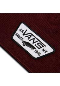 Vans - Czapka VANS - Milford Beanie VN0A36OJ4QU1 Port Royale. Kolor: czerwony. Materiał: materiał, akryl